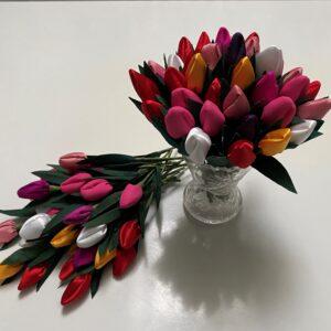 Patchwork blomster